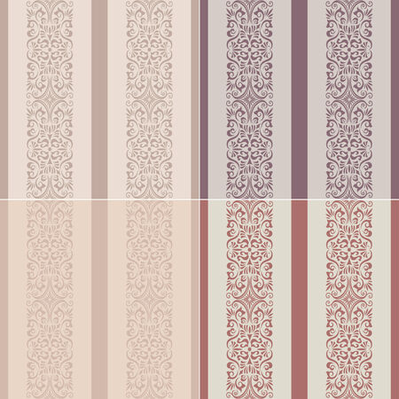 seamless stripes western wallpaper  Vector