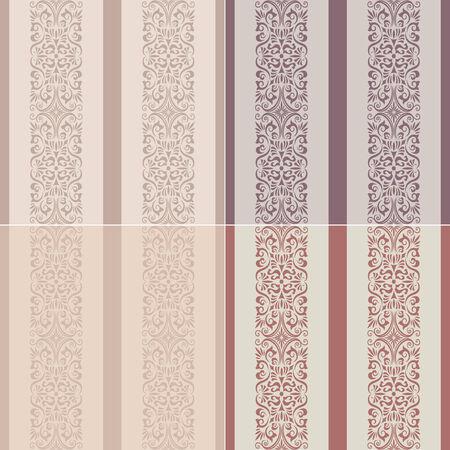 seamless stripes western wallpaper  Vector