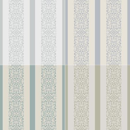 pale cream: seamless stripes western wallpaper
