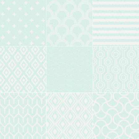 seamless textured geometric pattern Vector