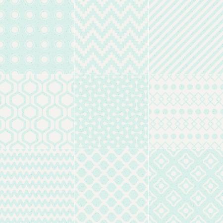 intertwine: seamless textured geometric pattern