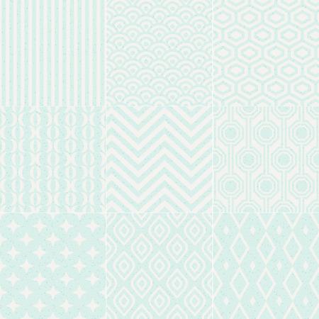 seamless textured geometric pattern Vector