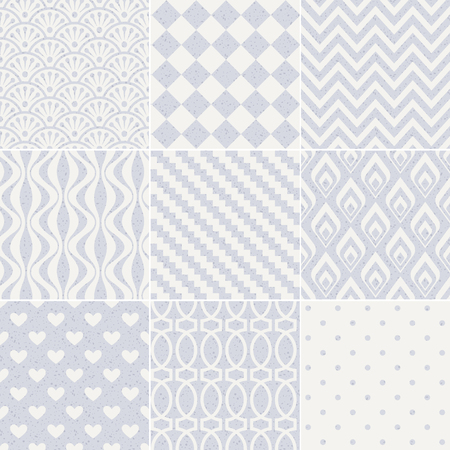 pale: seamless geometric abstract pastel pattern