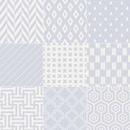 seamless geometric abstract pastel pattern Vector