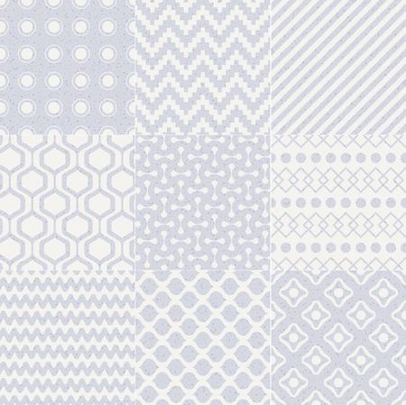 interlace: senza soluzione di continuit� geometrica astratta pastello modello
