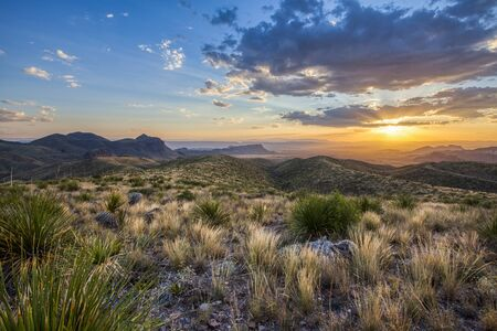 View from Sotol Vista, Big Bend National Park, USA