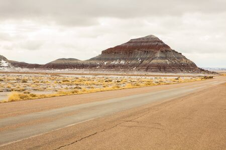Petrified Forest National Park, Arizona in USA