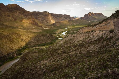 Big Bend Ranch State Park, Texas, USA, Stock Photo