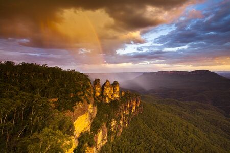 Three sisters, Blue Mountains, Sydney, New South Wales inAustralia
