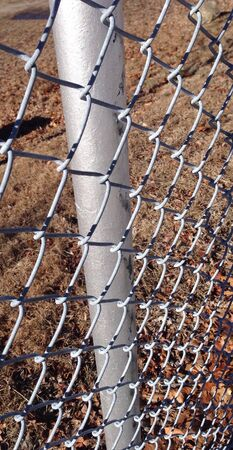 chainlink: Close-up of chain-link fence