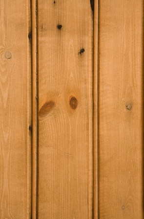Detail of wooden paneled furniture photo