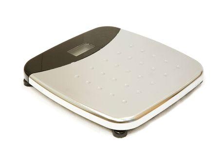 weighing scales: Bilance isolato su bianco di pesatura
