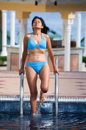 Desi women in bikini