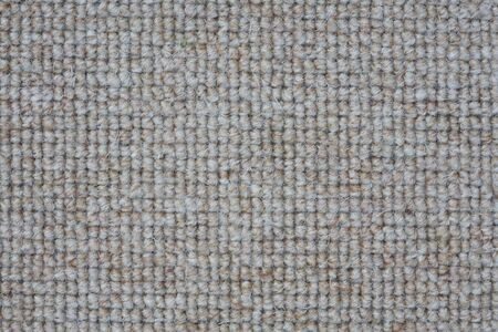 Closeup of a gray loop pile rug or carpet, ideal for a neutral colored background or design Stock Photo - 6483211