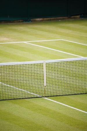 tenis: Tenis detalles de la corte con espacio para el texto
