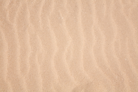 Ripple pattern closeup on a sandy beach photo