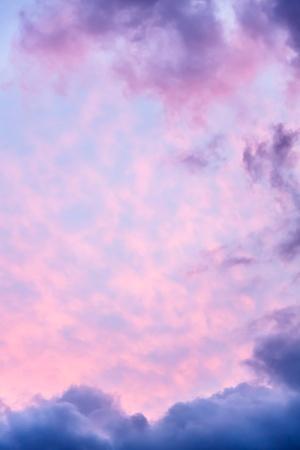 amanecer: Cielo dramático con un montón de espacio en blanco para el texto Foto de archivo