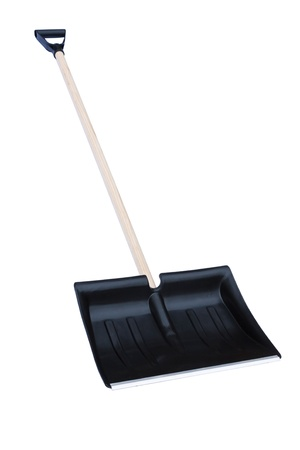 Snow shovel isolated on a white background