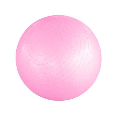 Swiss Ball auf einem weißen Hintergrund Standard-Bild