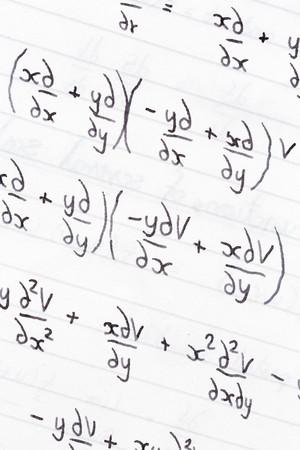 teorema: P�gina de estudio observa con diferenciaci�n parcial