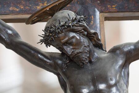 Christianity, Jesus Christ crucified on a cross 版權商用圖片
