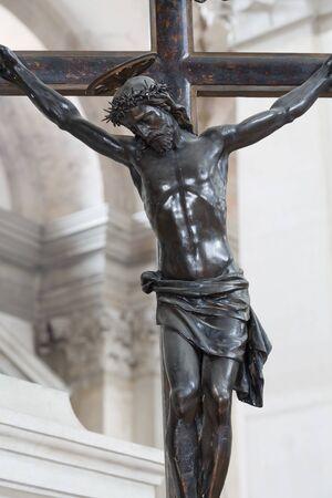 Crucifixion, Jesus Christ on a cross closeup