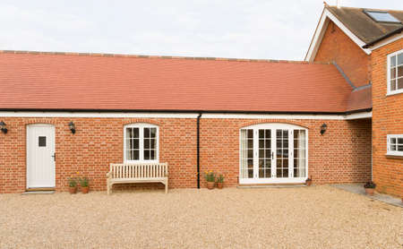 Residential home addition (barn conversion) to provide a single storey annexe to a UK house
