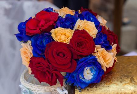 purl: Beautiful wedding bouquet ( wedding arrangement )