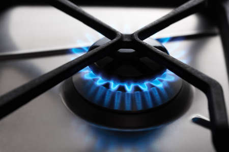 Stainless Steel Gas hob cooker photo