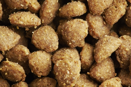 kibble: Kibble dog or cat food close up Stock Photo