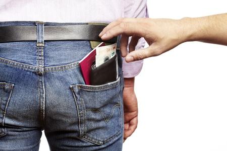robo: El hombre que se roban su billetera