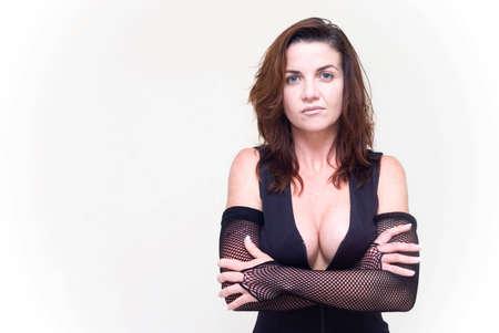sexy female portrait Stock Photo