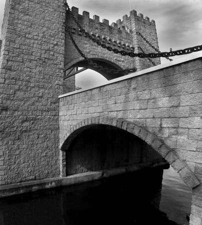 qld: Castle & Moat Bridge, QLD, Australia