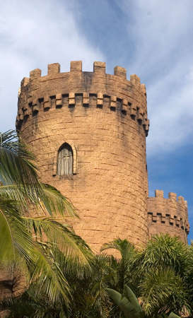 Castle turrets,QLD,Australia Stock Photo