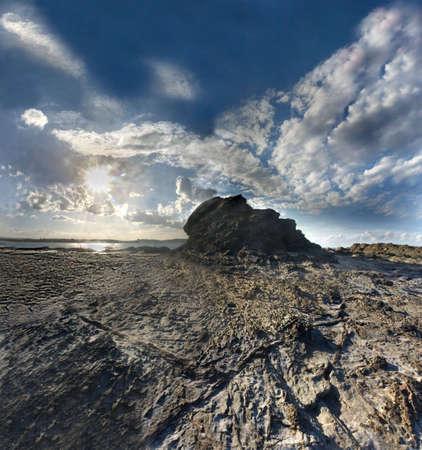 rocky scape at elephant rock, Australia  Stock Photo
