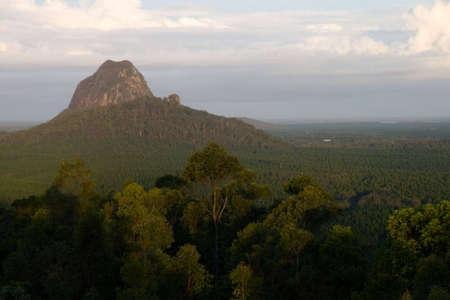 The glasshouse mountains,Australia