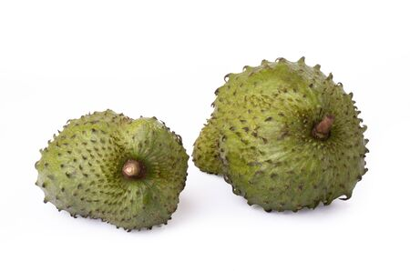 soursop fruit, isolated, studioshot Stock Photo - 16690233