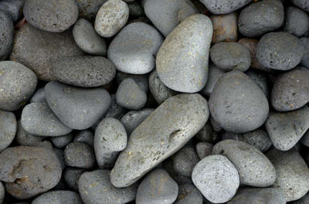 stone volcanic stones: round basalt stones on seaside, Outdoor, Idenau, Mount Cameroon