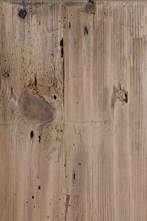 knothole: Larch wood Stock Photo