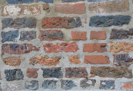 clinker: Clinker parete di fondo, esterno Archivio Fotografico