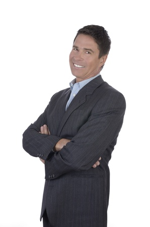 Mature Business Manager Portrait, Studio Shot Stock Photo - 20331713