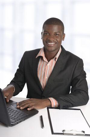 African business man   Student, Studio Shot photo