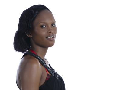 African Beauty Fantasy, Studio Shot Cameroon