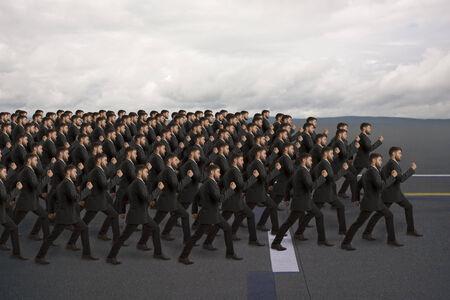 clones: Marching Clones, studio shot