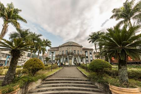 Carlos Gomes theatre, Blumenau, Santa Catarina, Brazil