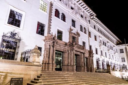 Justice Palace, Cusco, Peru. South America Editorial