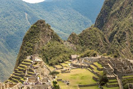 Machu Picchu, Cusco, Peru, South America. A UNESCO World Heritage Site
