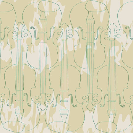 violins: creative vector violins on a background