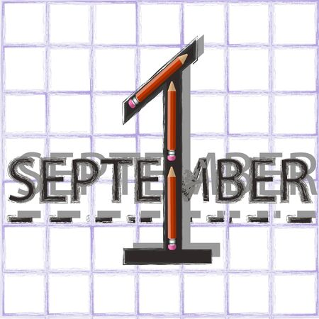 pensil: September 1st day knowledge with pensils