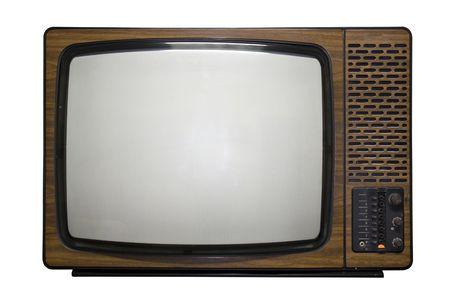 Old fashioned retro tv